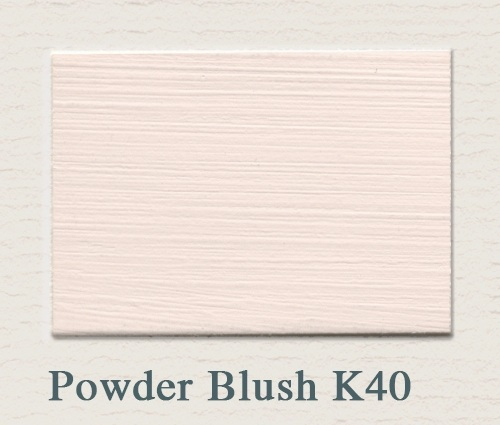 Painting the past Muurverf Powder Blush