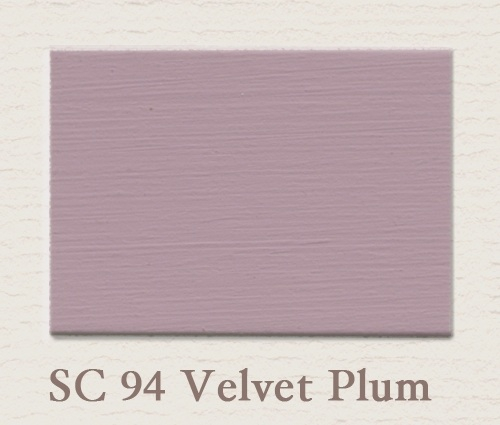 Painting the past Muurverf Velvet Plum